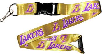 Los Angeles Lakers Lanyard - Yellow