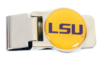 LSU Money Clip