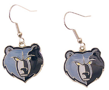 Memphis Grizzlies Earrings
