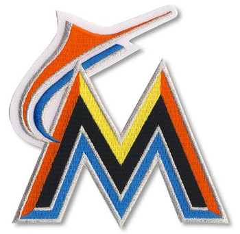 Miami Marlins Embroidered Emblem Patch