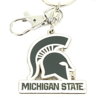 Michigan State Key Chain