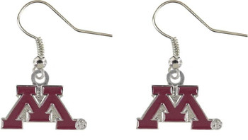 Minnesota College Logo Earring