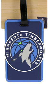 Minnesota Timberwolves Luggage Bag Tag