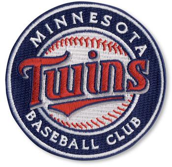 "Minnesota Twins Baseball Club Embroidered Emblem Patch – 4"""
