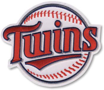 "Minnesota Twins Embroidered Emblem Patch – 4"""
