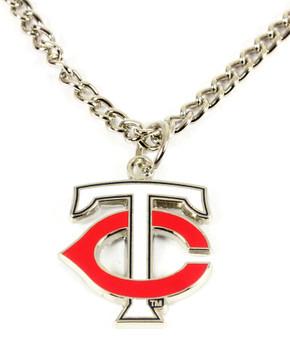 Minnesota Twins Logo Necklace