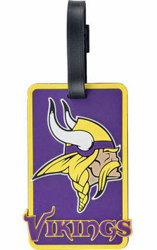 Minnesota Vikings Luggage Bag Tag