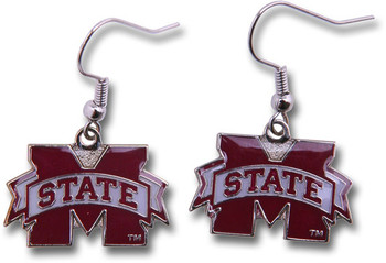 Mississippi State Logo Earrings
