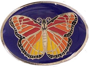 "Monarch Butterfly 1.5"" Brass Magnet"