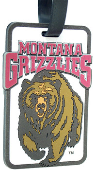 Montana Grizzlies Luggage Tag