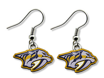 Nashville Predators Earrings