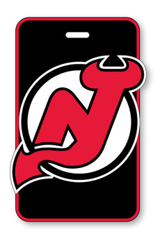 New Jersey Devils Luggage Bag Tag