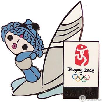 Beijing 2008 Olympics Sailing Pin - Beibei