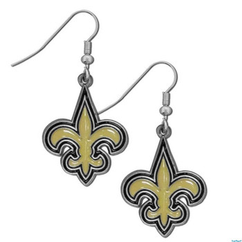 New Orleans Saints Logo Earrings