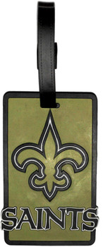 New Orleans Saints Luggage Tag