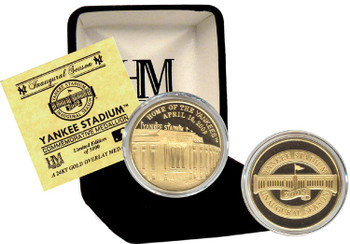 "New Yankee Stadium 24KT Gold ""Inaugural Season"" Commemorative Coin - Ltd. 5,000"