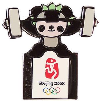 Beijing 2008 Olympics Jingjing Weightlifting Pin