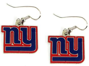 New York Giants Logo Earrings