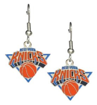 New York Knicks Earrings