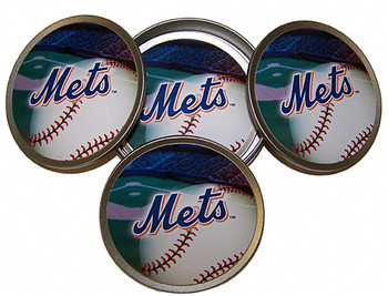 New York Mets Coasters - Set of 4