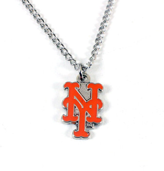 New York Mets Logo Necklace