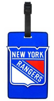 New York Rangers Logo Luggage Tag
