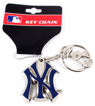 """New York Yankees """"NY"""" Logo Key Chain"""