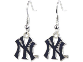 New York Yankees Earring Set