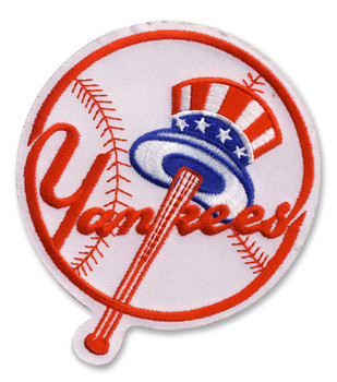 New York Yankees Embroidered Emblem Patch – 4""