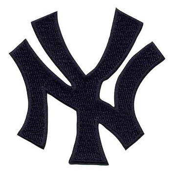 New York Yankees NY Logo Embroidered Emblem Patch – 4""