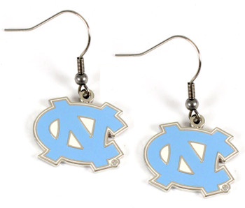 North Carolina Tarheels Earrings
