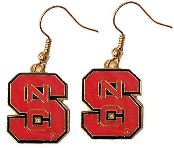 North Carolina State Earrings