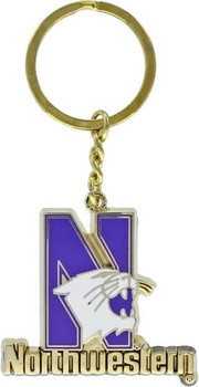 Northwestern Key Chain