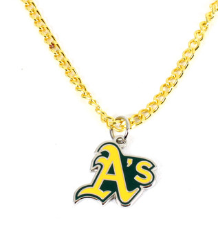 Oakland A's Logo Necklace