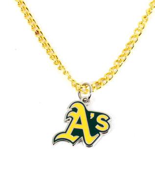 Oakland A's Logo Necklace