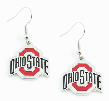 Ohio State Earrings