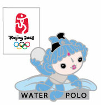 Beijing 2008 Olympics Beibei Water Polo Pin