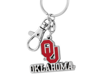 Oklahoma Sooners Key Chain