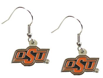 Oklahoma State Earrings