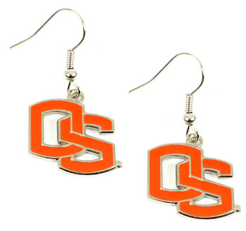 Oregon State College Earrings