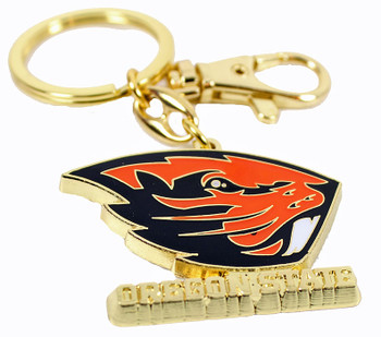 Oregon State Key Chain