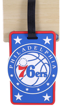 Philadelphia 76ers Luggage/Bag Tag