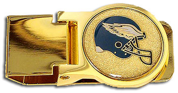 Philadelphia Eagles Brass Money Clip