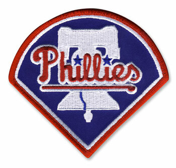 Philadelphia Phillies Embroidered Emblem Patch – 4""