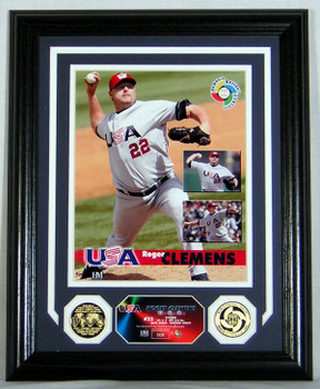 "Roger Clemens World Baseball Classic ""USA"" Photomint - Limited 500"