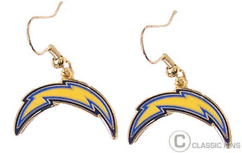 Los Angeles Chargers Logo Earrings