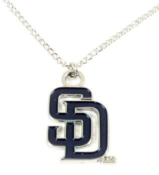 San Diego Padres Necklace - Blue