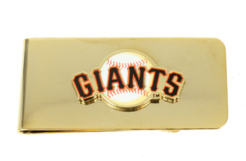 San Francisco Giants Brass Money Clip
