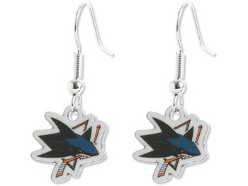 San Jose Sharks Earrings