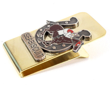 "Seabiscuit ""Lucky"" Money Clip"